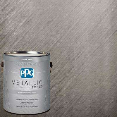 1 gal. MTL124 Fabled Foliage Metallic Interior Specialty Finish Paint