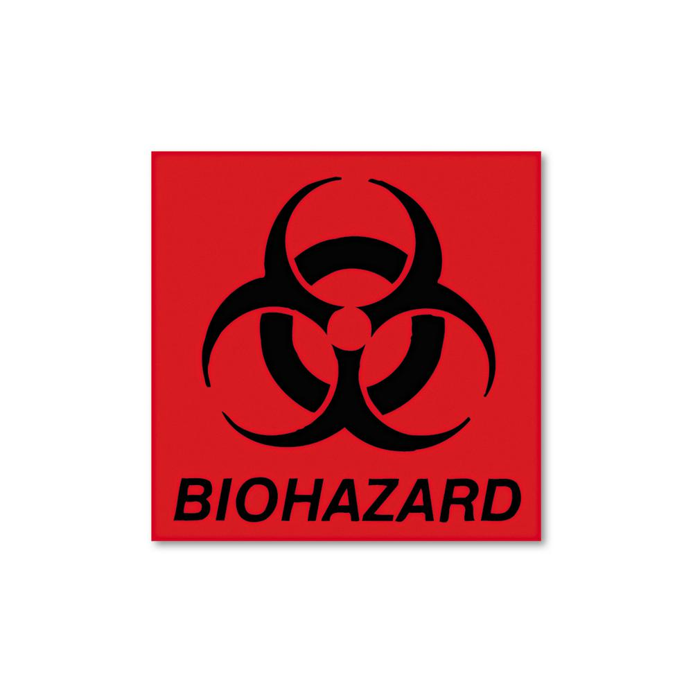 Rubbermaid Commercial Products Bio-Hazard Decal