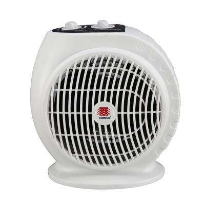1,500-Watt Portable Electric Fan Heater with Adjustable Thermostat