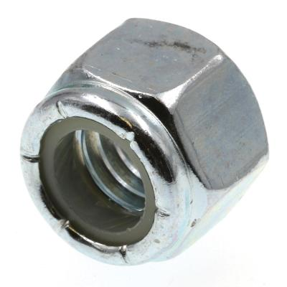 3/8 in.-16 Grade 2 Zinc Plated Steel Nylon Insert Lock Nuts (100-Pack)