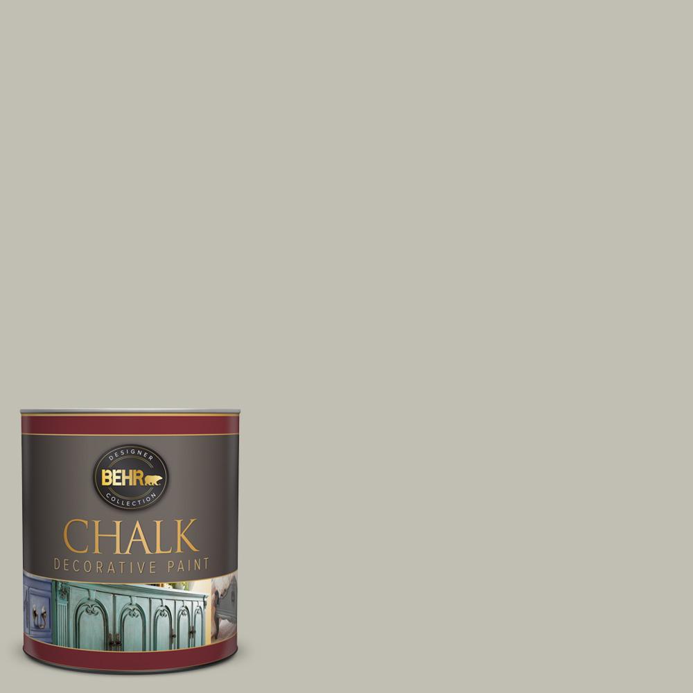 BEHR 1-qt. #BCP40 Silver Celadon Interior Chalk Finish Paint