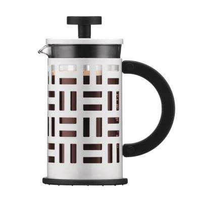 Eileen 3-Cup White French Press Coffee Maker