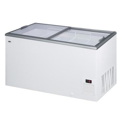 14.1 cu. ft. Manual Defrost Commercial Chest Freezer in White