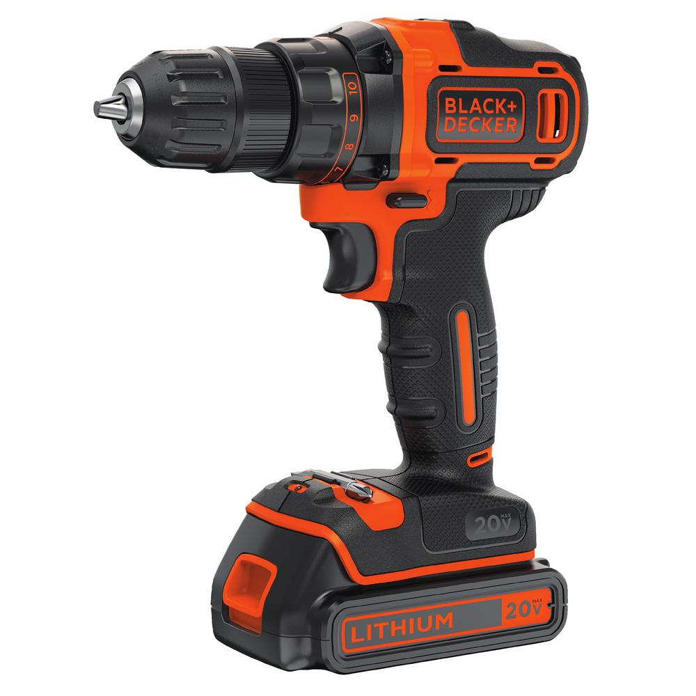 BLACK DECKER 20-Volt MAX Lithium-Ion Cordless String Trimmer and ...