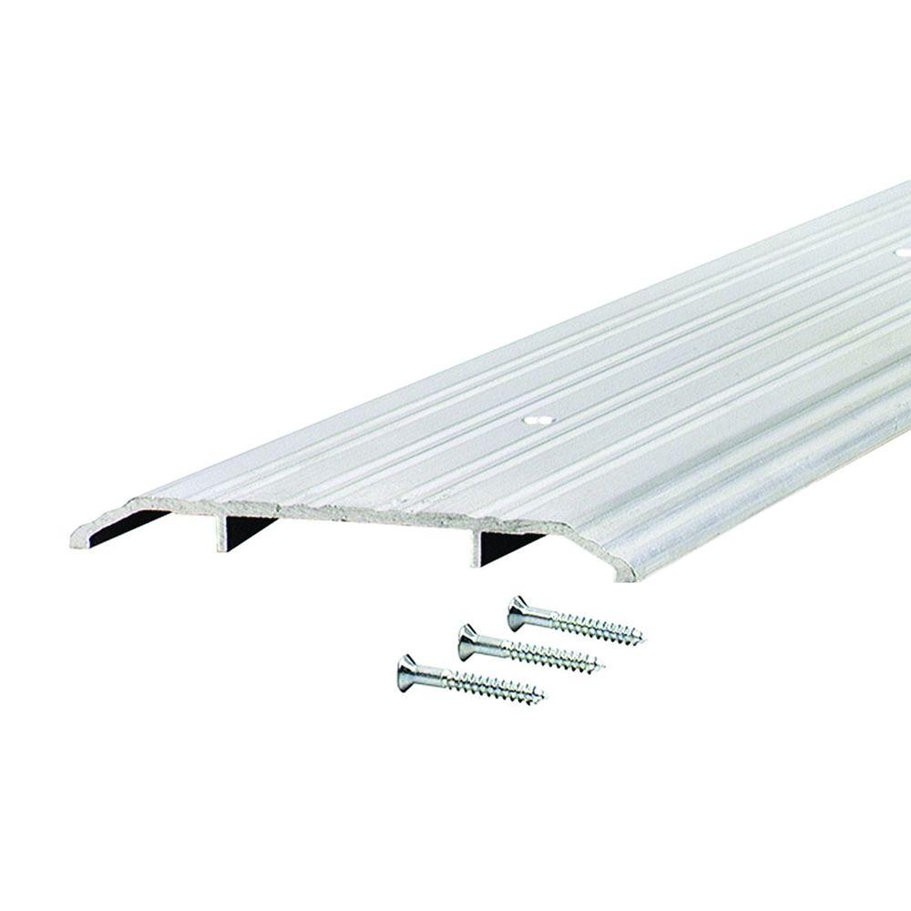M-D BUILDING PRODUCTS Fluted Saddle 5 in. x 65.5 in. Alum...