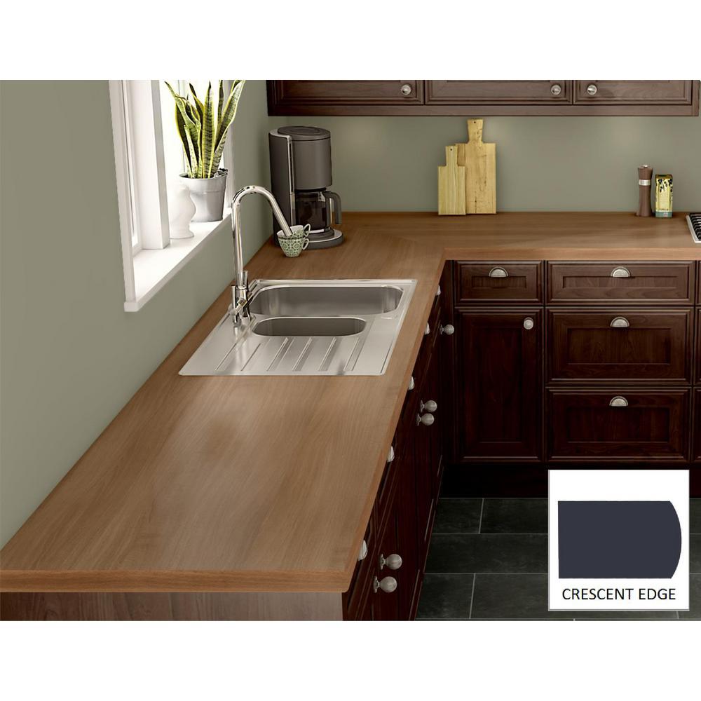 Wilsonart Brazilwood Laminate Custom Crescent Edge C F C144794638 The Home Depot