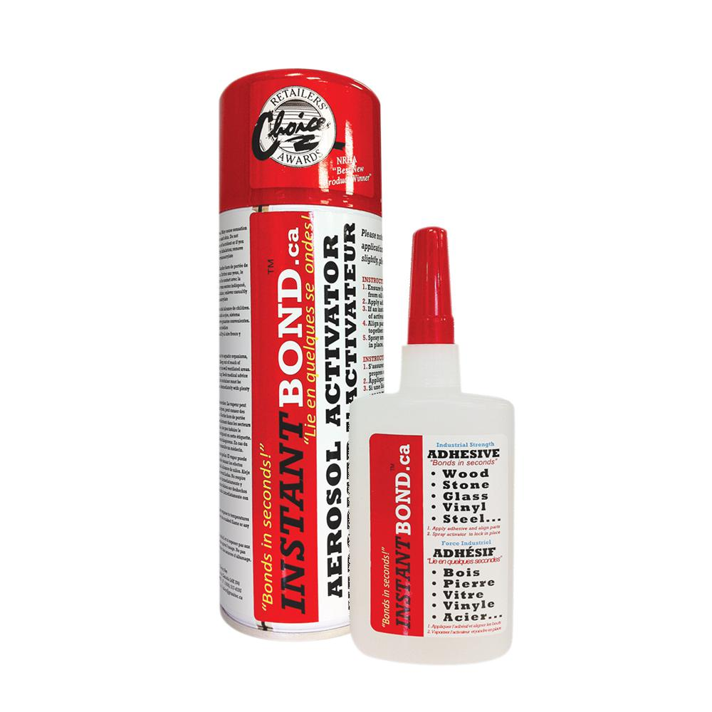 50/200 ml World's Fastest Instant Adhesive Glue - Clear - Cyanoacrylate