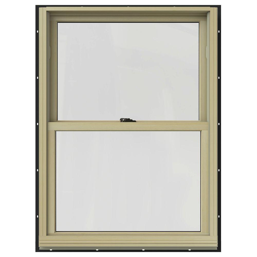Jeld wen in x in w 2500 double hung clad for Double hung window reviews