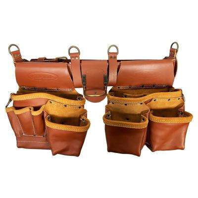 Master's 52.5 in. 2-Bag Brown Leather Rig