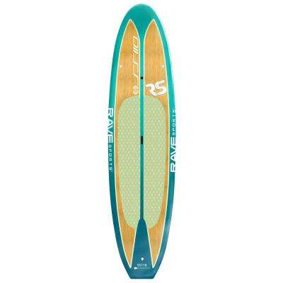 Shoreline Series Stand Up Paddle Board in Caribbean Blue