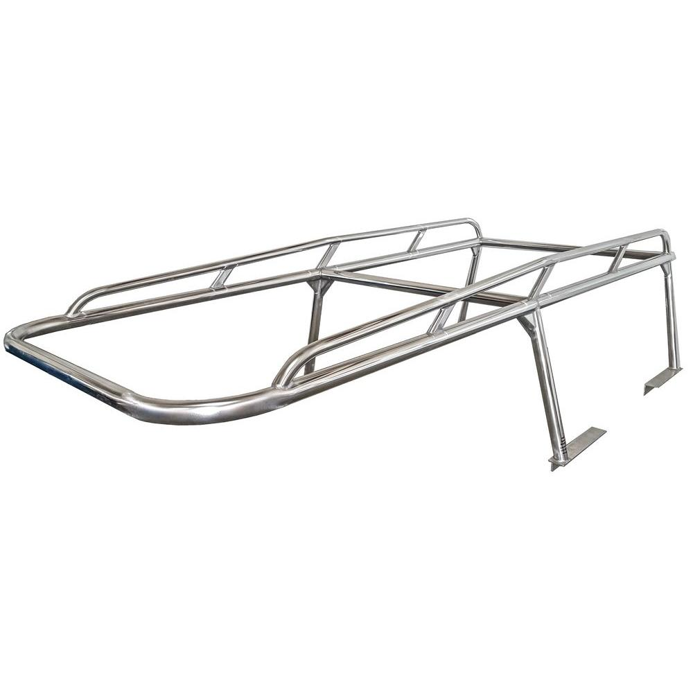 Aluminum Ladder Rack for Ford F-150 Extended/Super Cab with 96 in ...