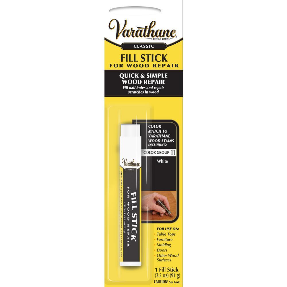 3.2 oz. White Wood Fill Stick
