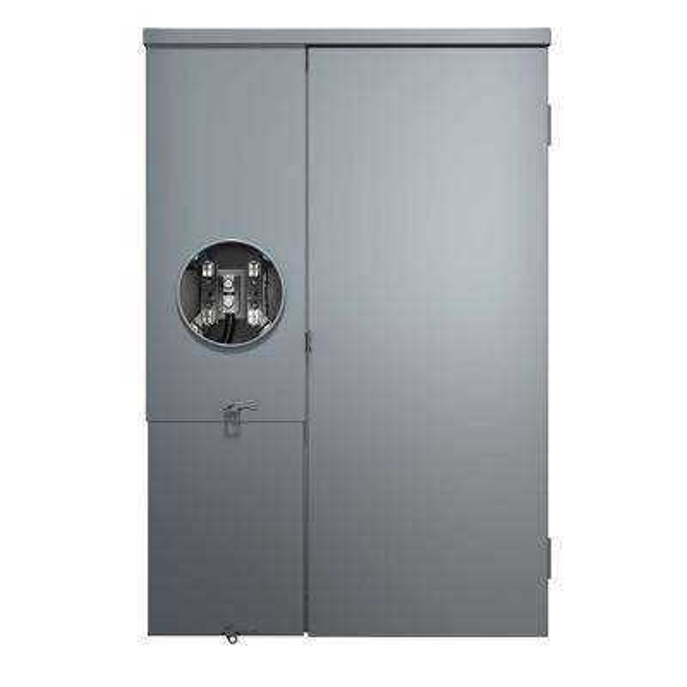 150 Amp 30-Space 30-Circuit Outdoor Load Center Meter Main Combo Enclosure with Main Breaker
