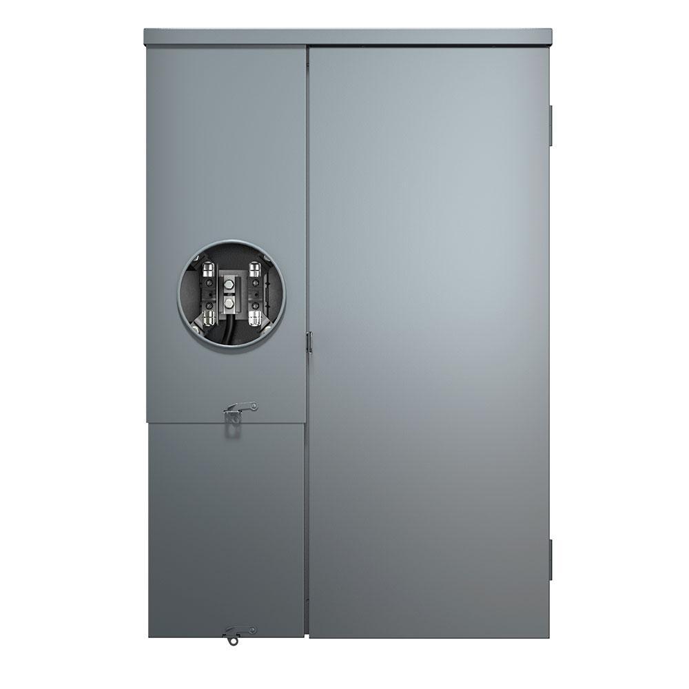 200 Amp 30-Space 30-Circuit Outdoor Load Center Meter Main Combo Enclosure with Main Breaker