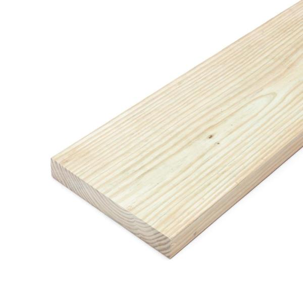 2 in. x 10 in. x 8 ft. #2 Prime Ground Contact Pressure-Treated Lumber