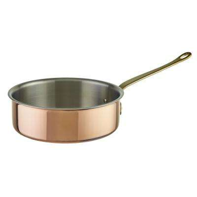 3-3/4 Qt. Tri-Ply Copper Saute Pan