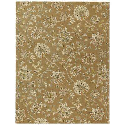 Aileen Taupe 3 ft. 11 in. x 6 ft. Area Rug