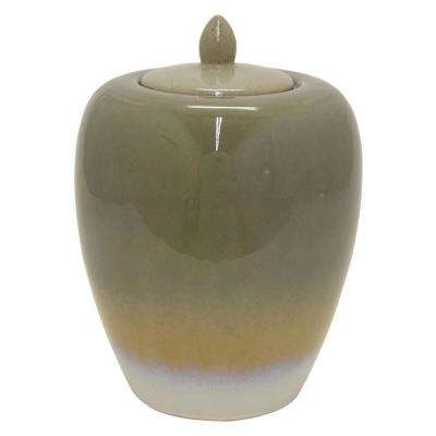 11 in. Ceramic Jar