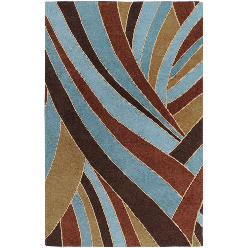 Artistic Weavers Michael Sky Blue 9 Ft X 12 Ft Area Rug Mcl7002