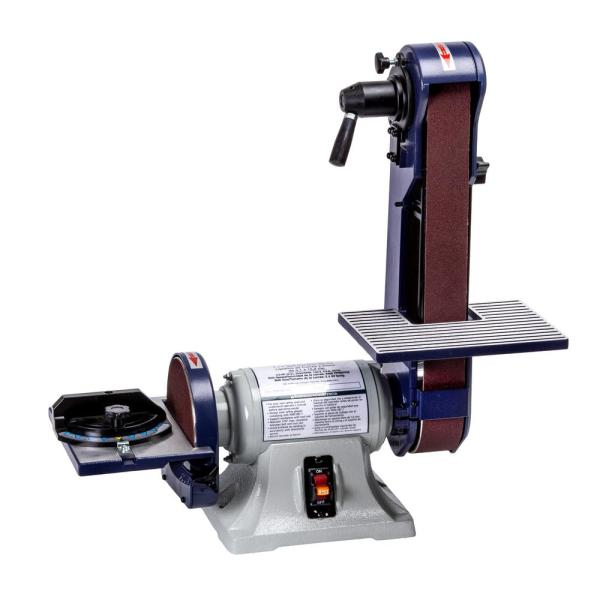 2 in. x 42 in. Belt, 6 in. Disc Bench Finishing Machine
