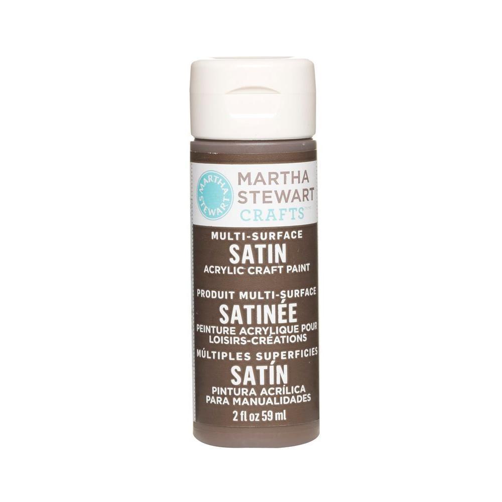 Martha Stewart Crafts 2-oz. Vanilla Bean Multi-Surface Satin Acrylic Craft Paint