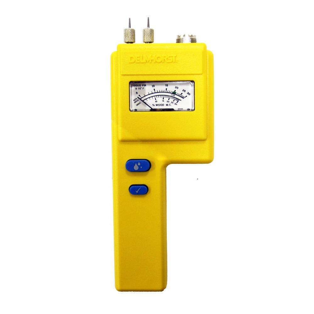 Analog Pin-Type Moisture Meter