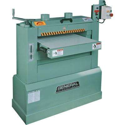 24 in. Horizontal Double Drum Sander