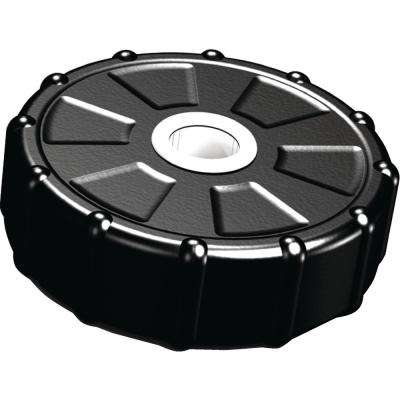 14 in. PVC Dock Post Guide Wheel