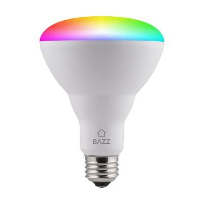 65-Watt Equivalent BR30 Dimmable Tunable RGB Smart Wi-Fi LED Light Bulb (2-Pack)