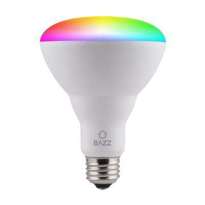 65-Watt Equivalent BR30 Dimmable Tunable RGB Smart Wi-Fi LED Light Bulb (4-Pack)