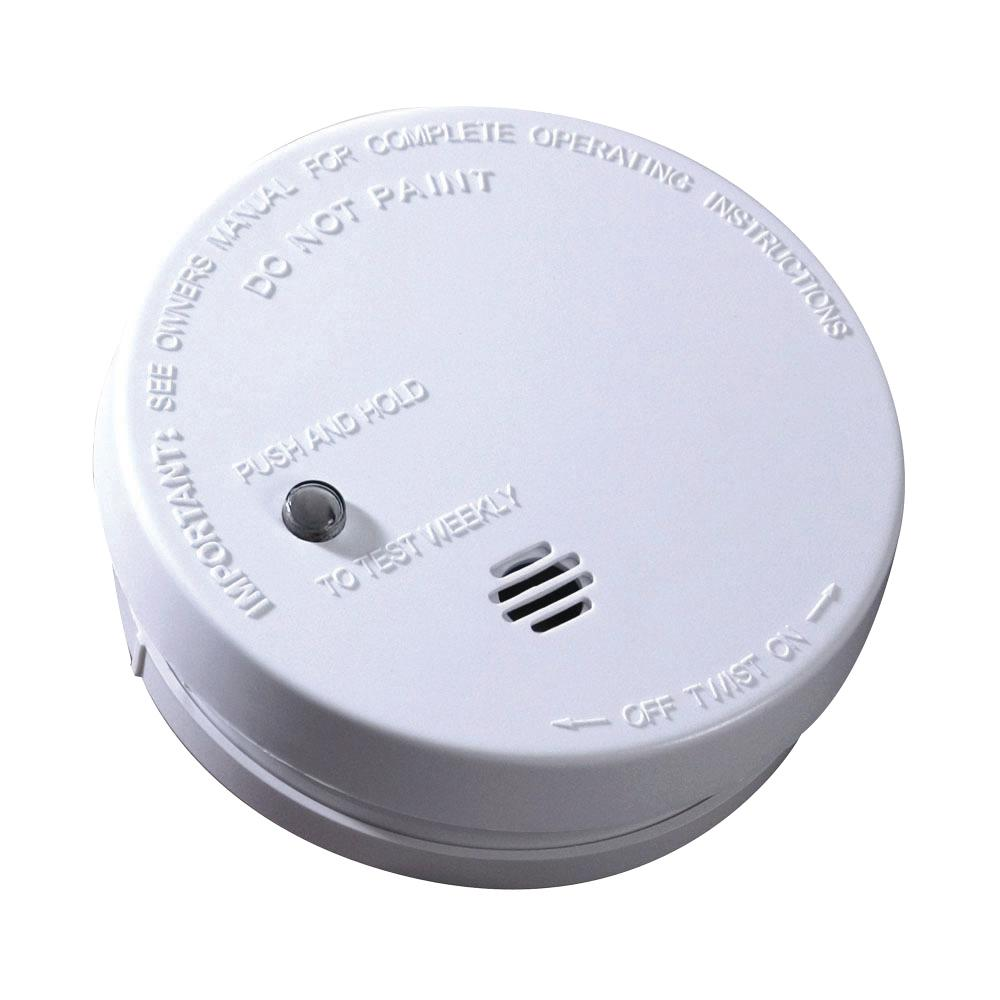 Kidde Battery Operated Smoke Detector With Ionization Sensor