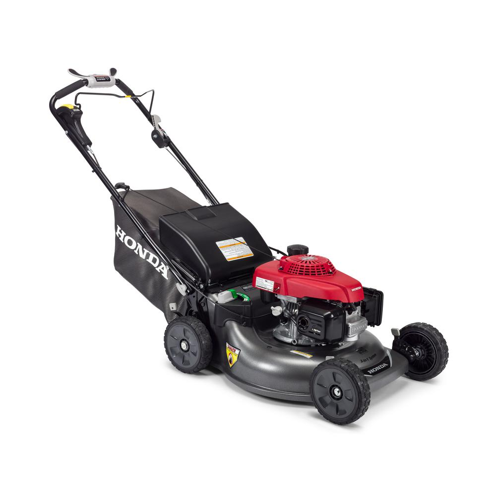 Honda 21 in. 3-in-1 Variable Speed Gas Walk Behind Self Propelled Lawn Mower with Blade Stop