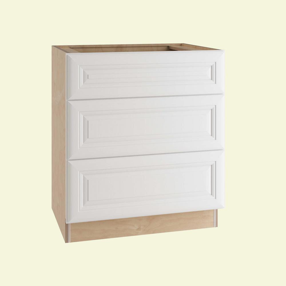 Brookfield Assembled 30x34.5x24 in. Single False Front and 2 Deep Drawers