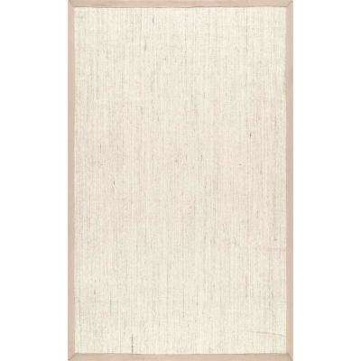 8 X 10 Beige Sisal Area Rugs Rugs The Home Depot