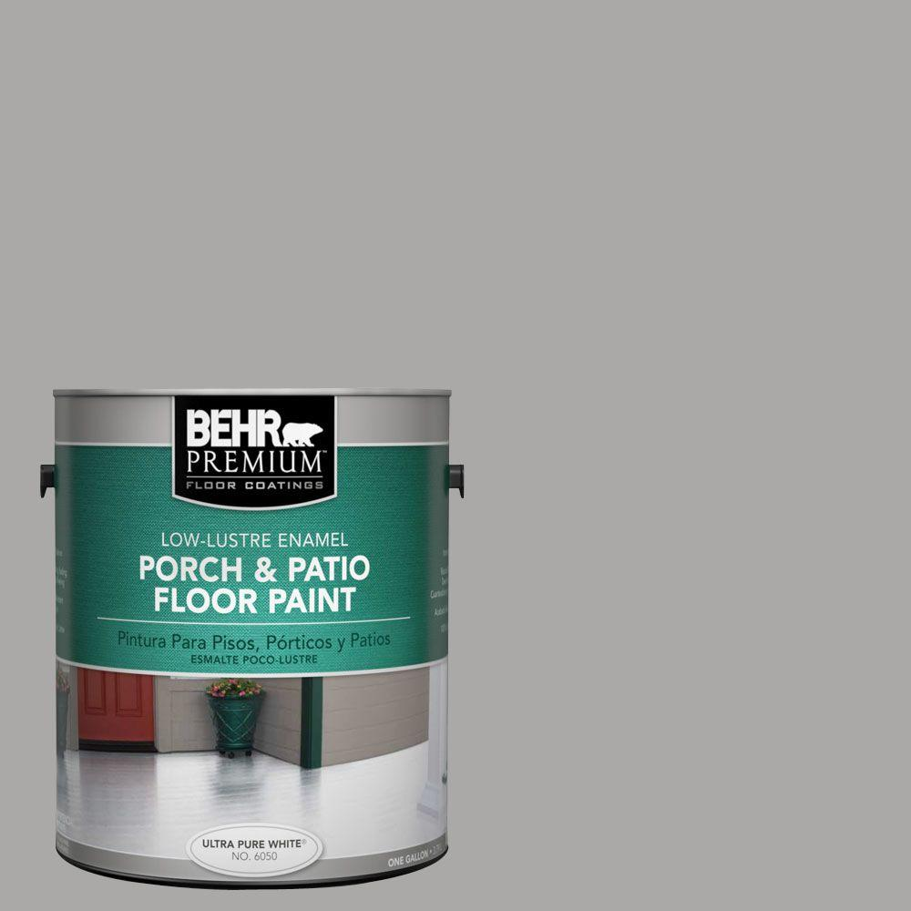 #PFC 68 Silver Gray Low Lustre Interior/Exterior Porch And Patio Floor Paint 669401    The Home Depot