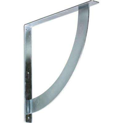 20 in. x 2 in. x 20 in. Steel Unfinished Metal Bulwark Bracket