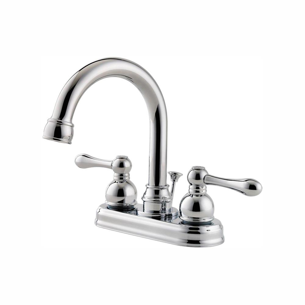 Pfister Wayland 4 in. Centerset 2-Handle Bathroom Faucet in Polished Chrome