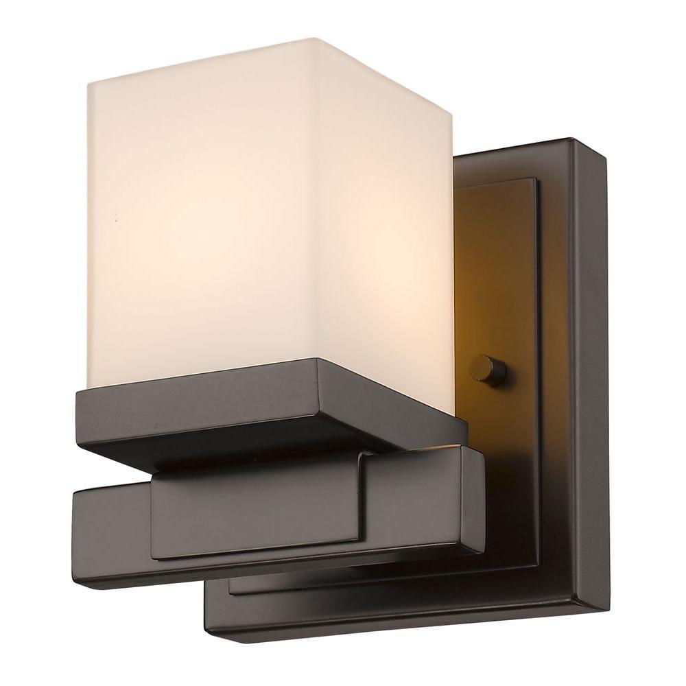 Mera 1-Light Bronze Sconce