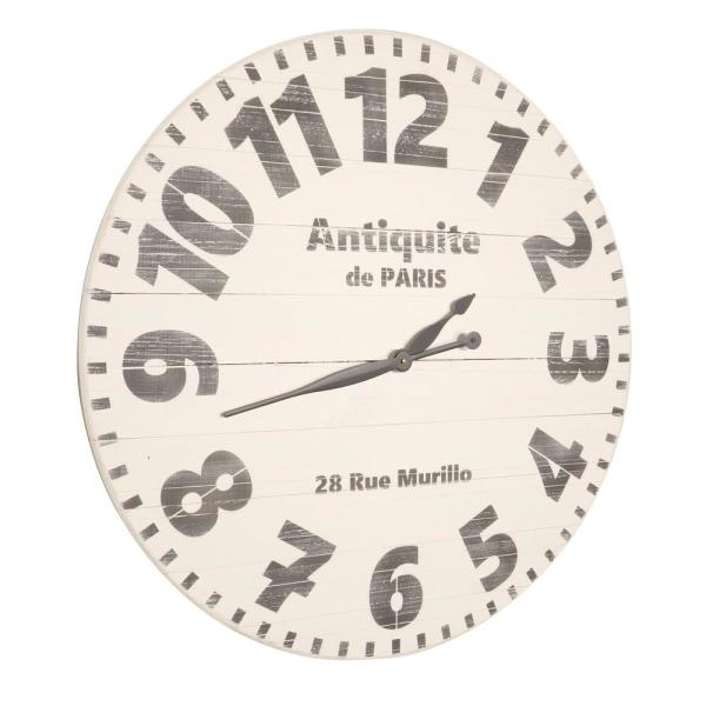 24 in. Oversized Antiquite de Paris Wall Clock