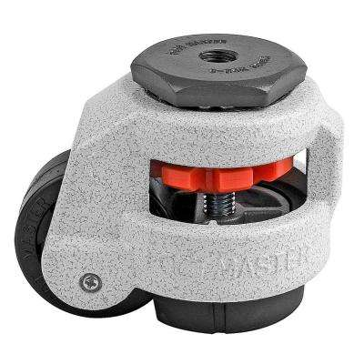 2 in. Nylon Wheel Metric Stem Leveling Caster with Load Rating 550 lbs.