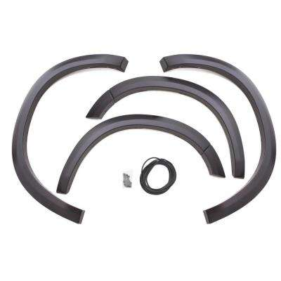 Sport Style Fender Flare Set - Front, Smooth, 2-Piece Set