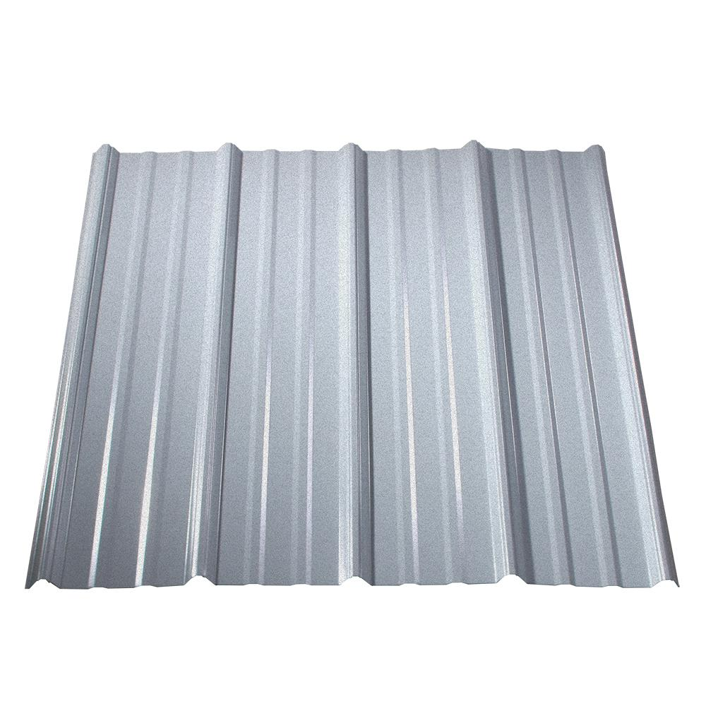 Fabral 12 Ft Galvanized Steel Roof Panel 4736008000 The