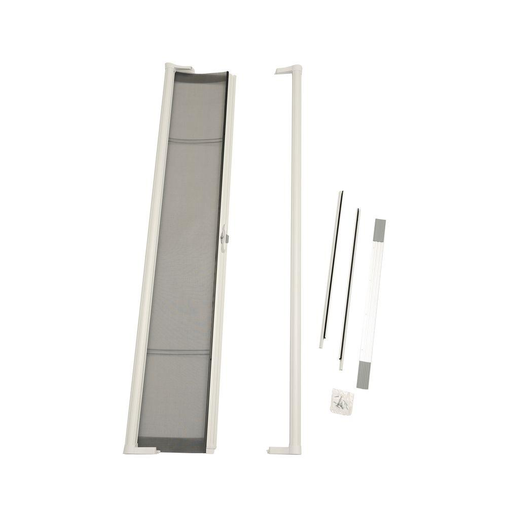 ODL 36 in. x 80 in. Brisa White Standard Retractable Screen Door-BRSTWE - The Home Depot