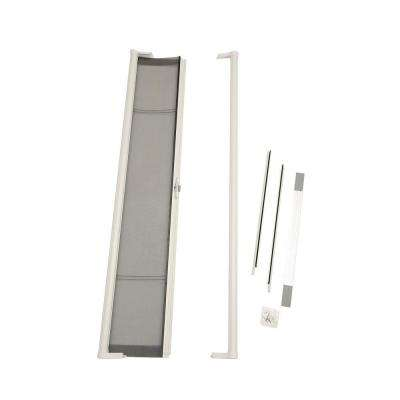 36 in. x 80 in. Brisa White Standard Retractable Screen Door