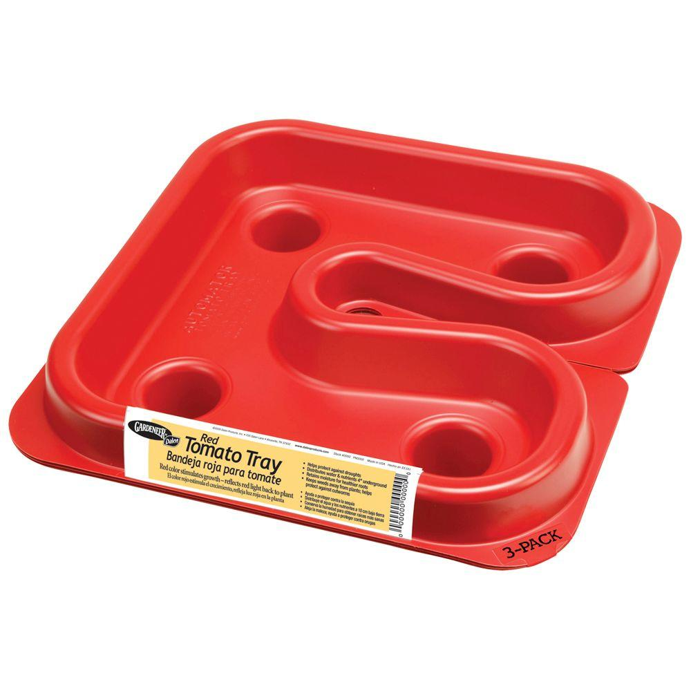 3.50 in. x 12 in. x 12 in. Dalen Products Red