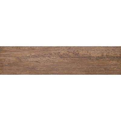 Woodwork Eugene Matte 6.5 in. x 39.25 in. Porcelain Floor and Wall Tile (10.62 sq. ft. / case)