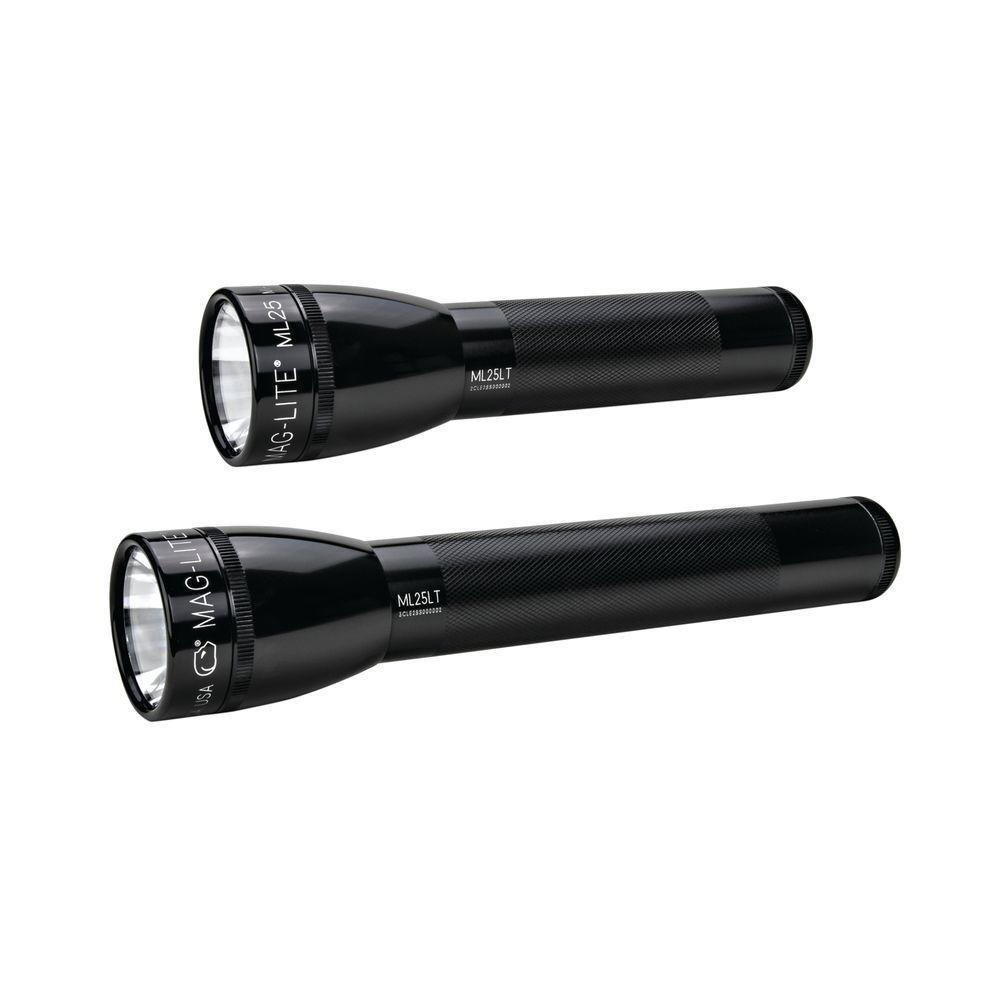 Maglite 2C-3C LED Flashlight Lite Pack-ML25LT-PX106 - The Home Depot
