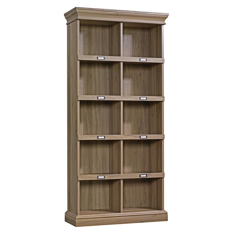 SAUDER Barrister Lane Salt Oak Open Bookcase