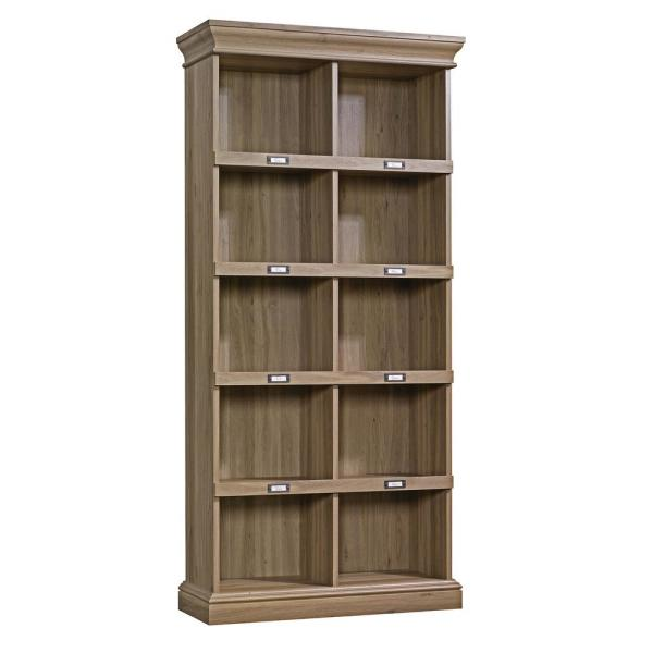 SAUDER Barrister Lane Salt Oak Open Bookcase 414108