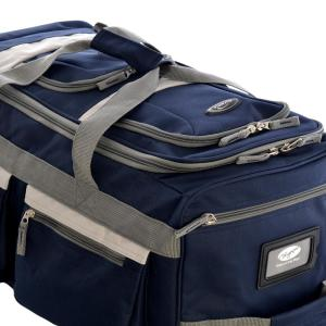 3 Olympia Usa 8 In Pocket Rolling Duffel Bag